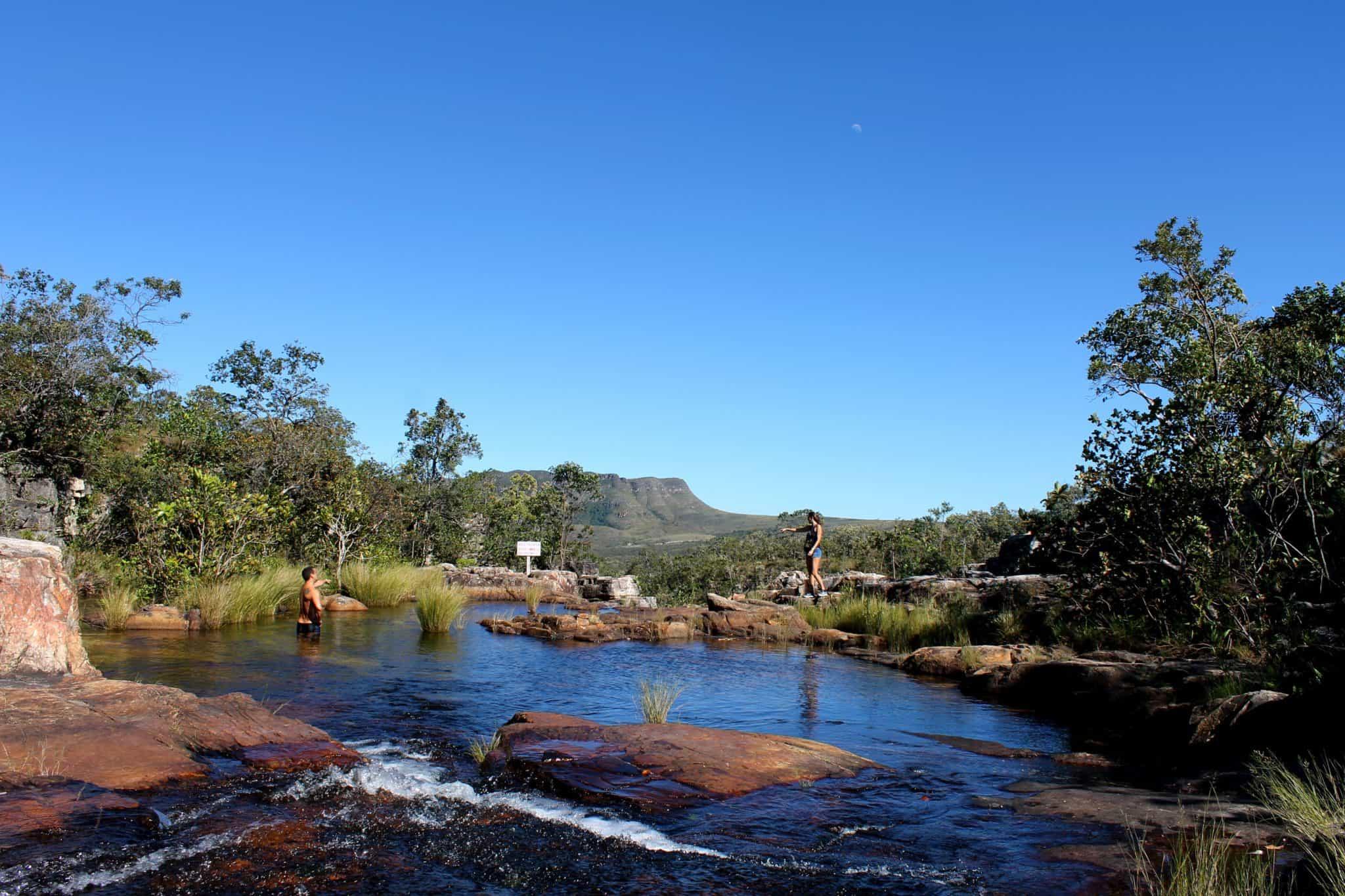 piscinas da cachoeira almécegas I - Chapada dos Veadeiros