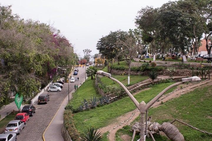 Parque Húsares de Junín - O que fazer em Barranco, em Lima
