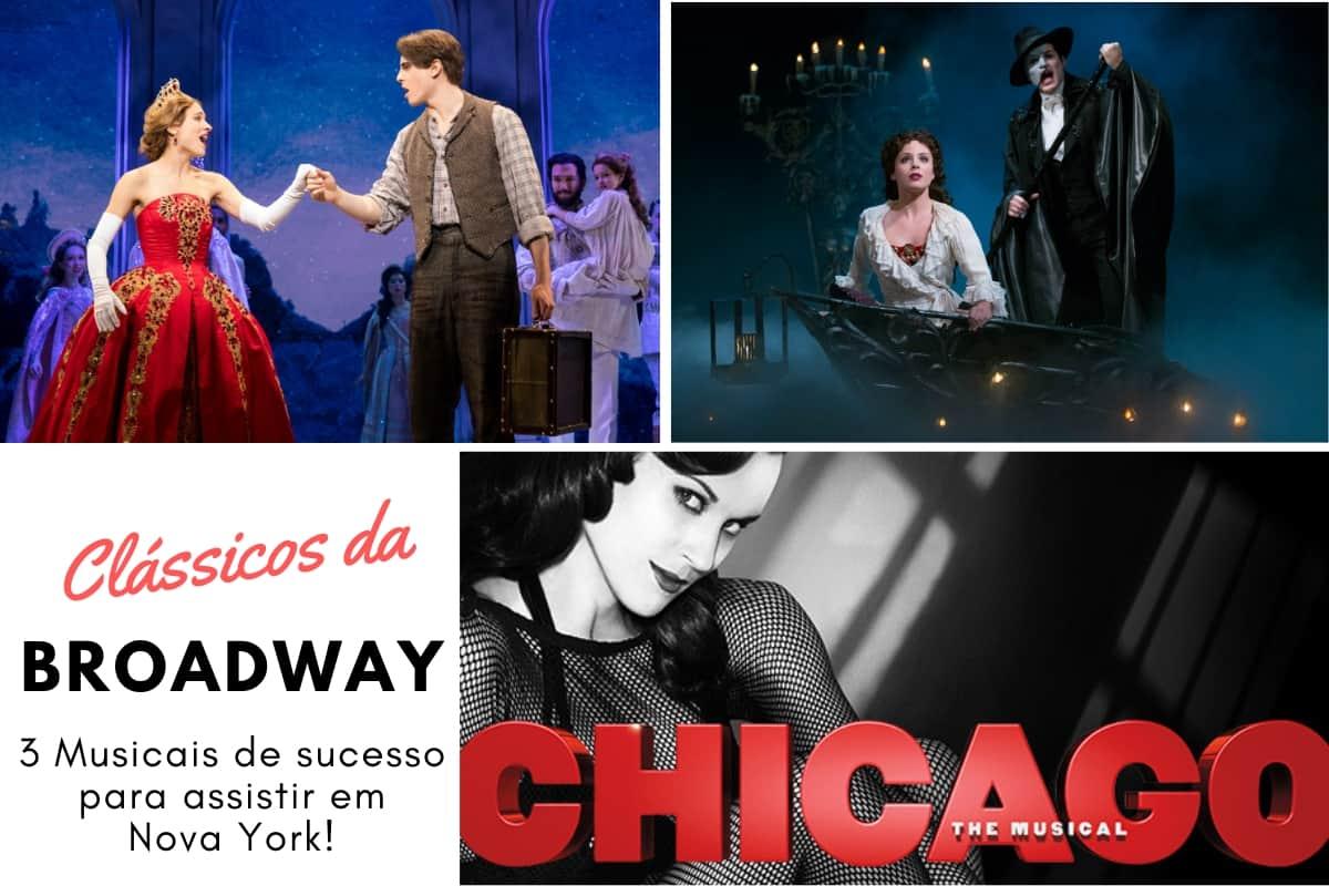 Musicais clássicos da Broadway