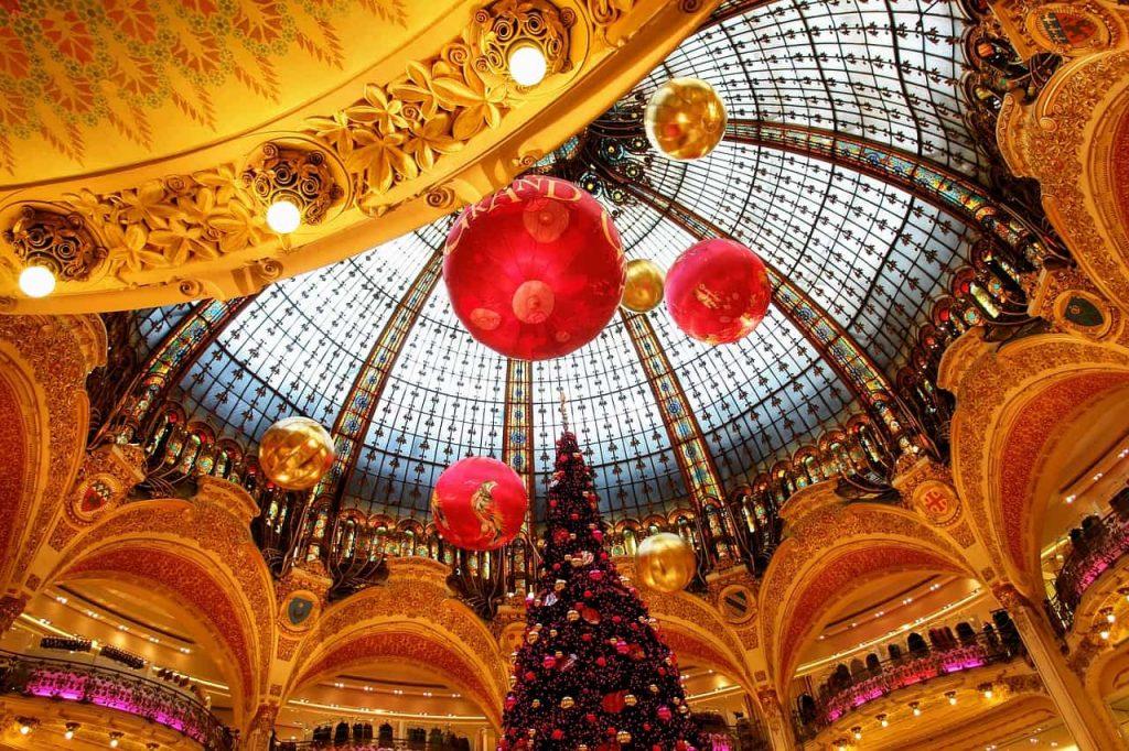 Roteiro Paris 5 dias - Galerias Lafayette