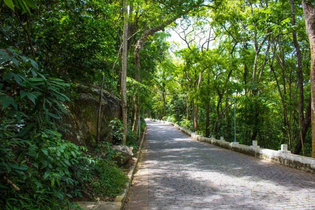 Subida até o Convento da Penha, Vila Velha